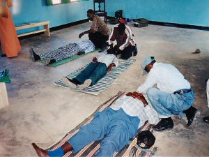 Appropriate first aid training is essential for staff working in conflict or disaster zones