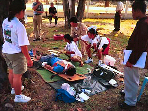 Mine Clearance Trauma Medic is a comprehensive 3 week medical training course