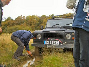 MASC's off-road driving and recovery course prepares participants for most driving eventualities